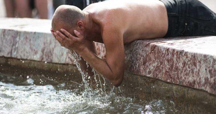 аномальная жара в России ЯНАО