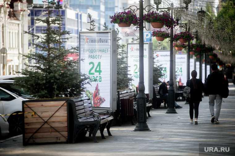 """Открытие торгового центра """"Гринвич"""" после карантинных мер. Екатеринбург"""