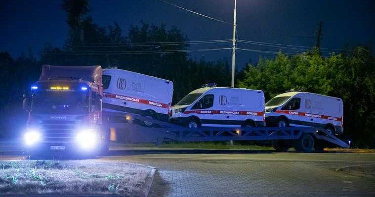 фонд святой Екатерины купил машины скорой помощи для Екатеринбурга