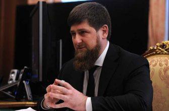 Рамзан Кадыров санкции