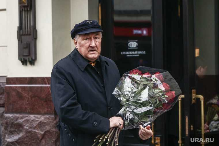 прощание с Борисом Клюевым