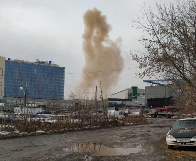 В центре Челябинска прогремел взрыв. Фото