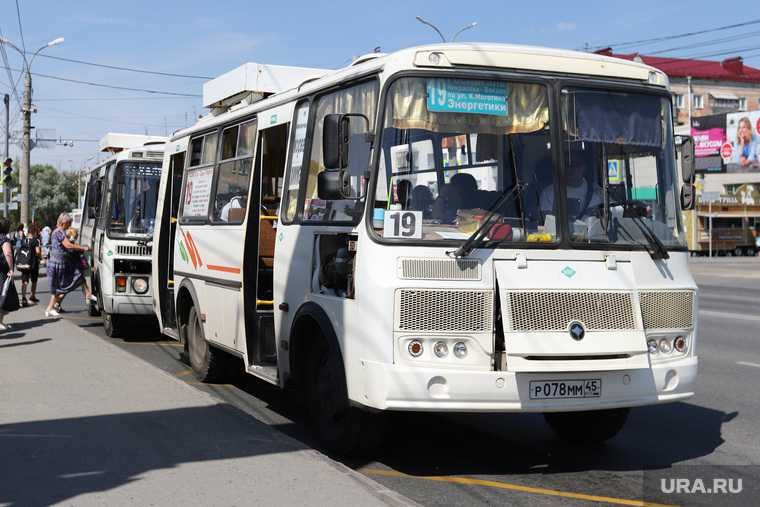 Автобусы Курганской области