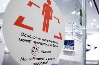 Екатеринбург ТЦ Кит масочный режим