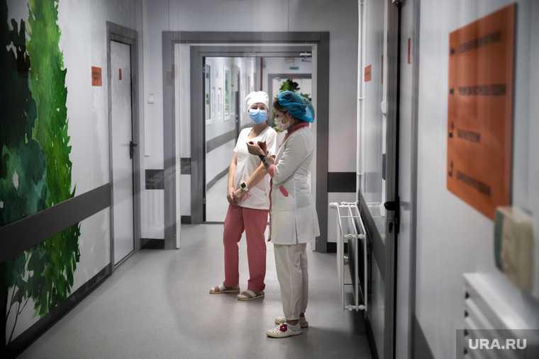 коронавирус закрыли госпиталь Екатеринбург