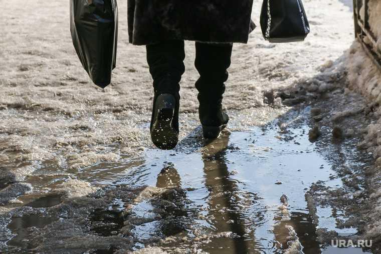 аномальное потепление в России