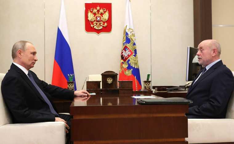 Путин новая должность Фрадков