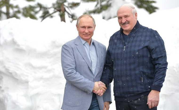 Путин встретился с Лукашенко в Сочи. О чем говорили политики