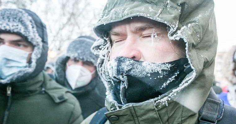 аномальные морозы Свердловская область Екатеринбург погода