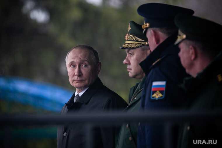 Путин силовики