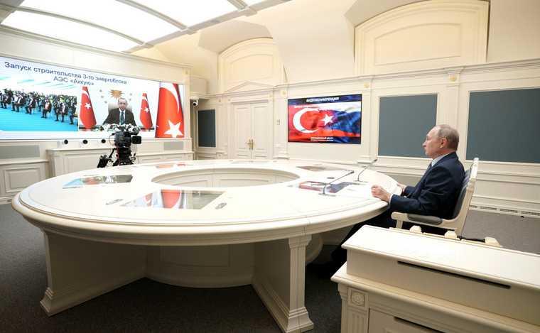 Как Путин встречей сЭрдоганом обманул ожидания Запада