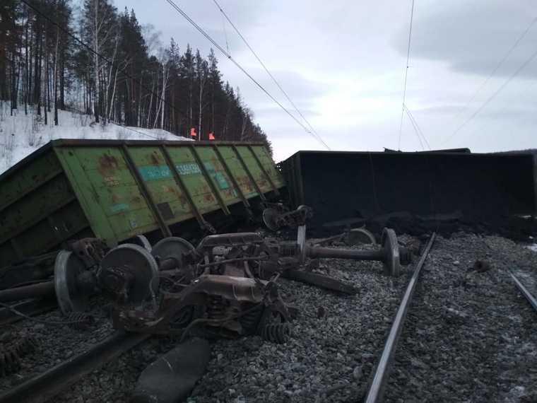 Челябинская область МЧС сход поезда опрокинулся поезд уголь