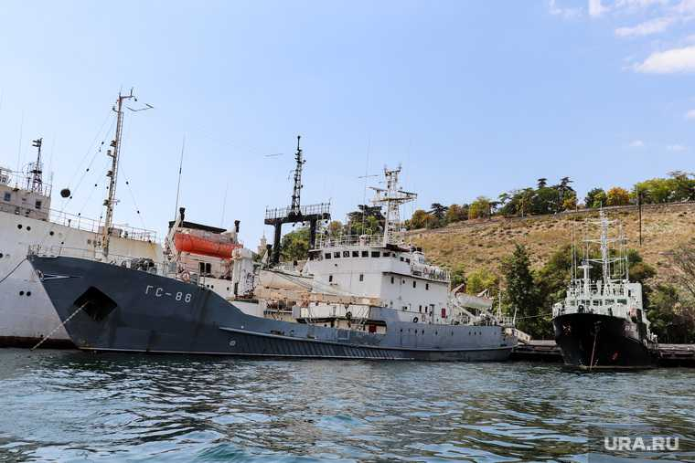 проверка сил Черноморского флота