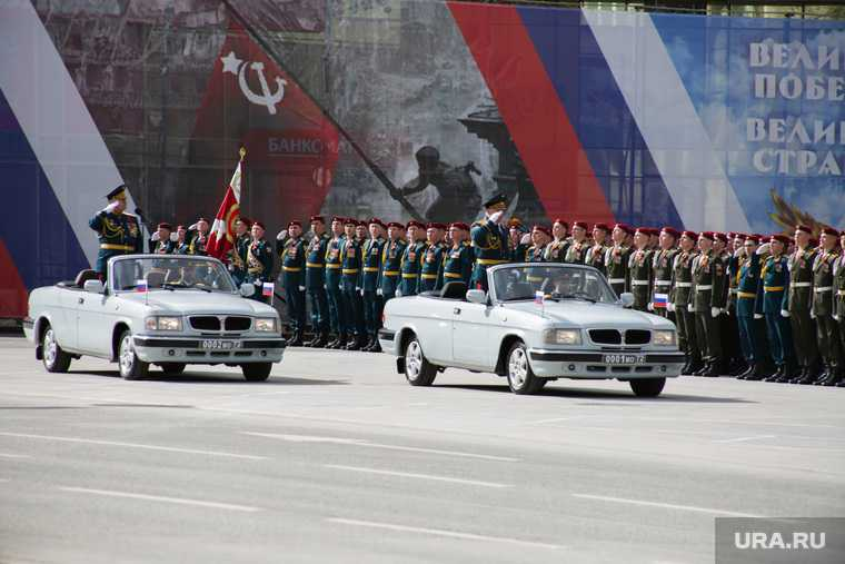 парад победы пермь