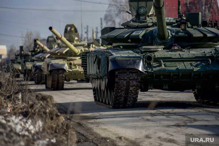 парад военной техники Вторчермет Екатеринбург 6 апреля