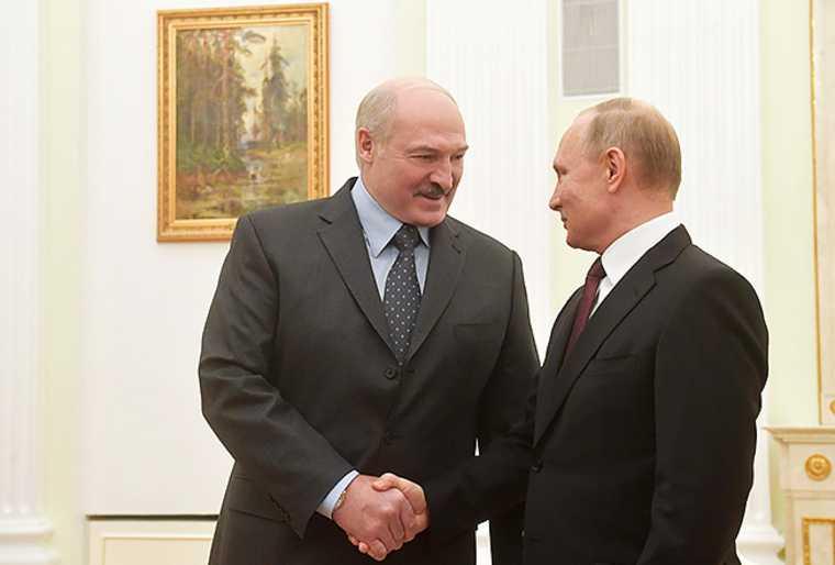 встреча Путин Лукашенко