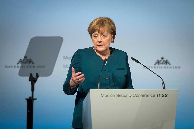 Меркель поддержала северный поток — 2