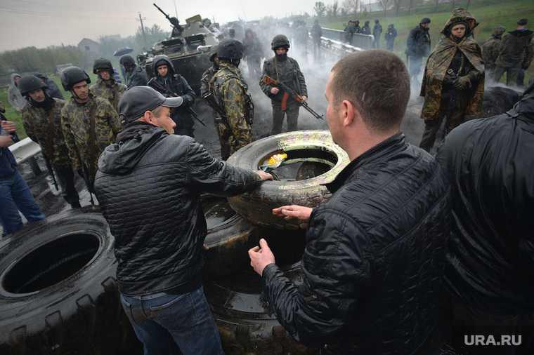 провокация Украина