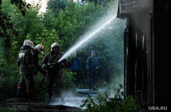 пожар село Бызово Свердловская область погибли дети подробности
