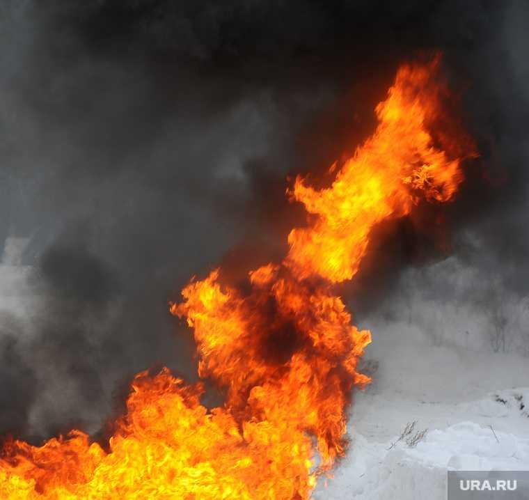 Челябинская область Башкирия взрыв газ пожар ограничение движения
