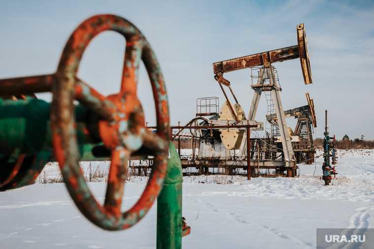 нефть газ в России