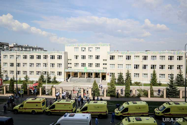 Казань школа учительница шутинг убийство массовое Россия
