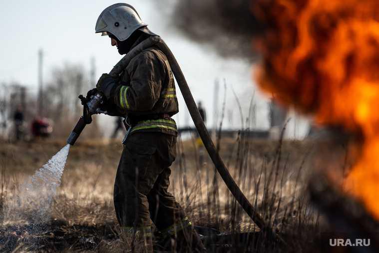 пожар Курганская область село Белозерское пожар