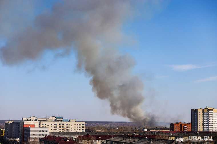 пожар андерсен парк тюмень