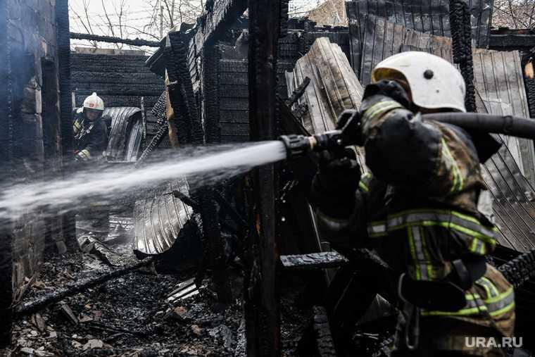 Цыганский поселок Екатеринбург поджигали частные дома