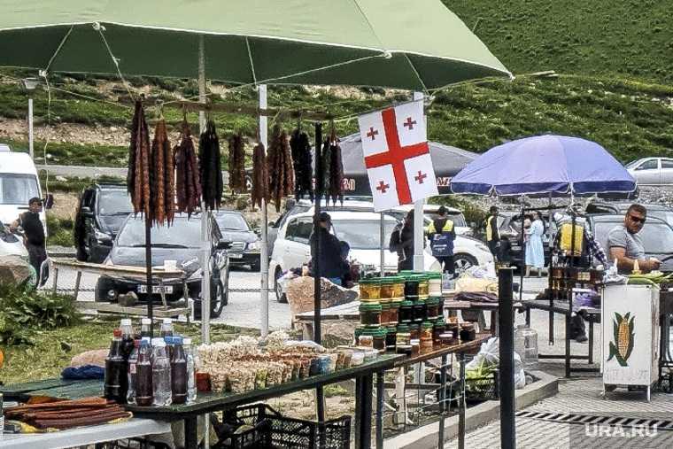 грузия туризм лето граница