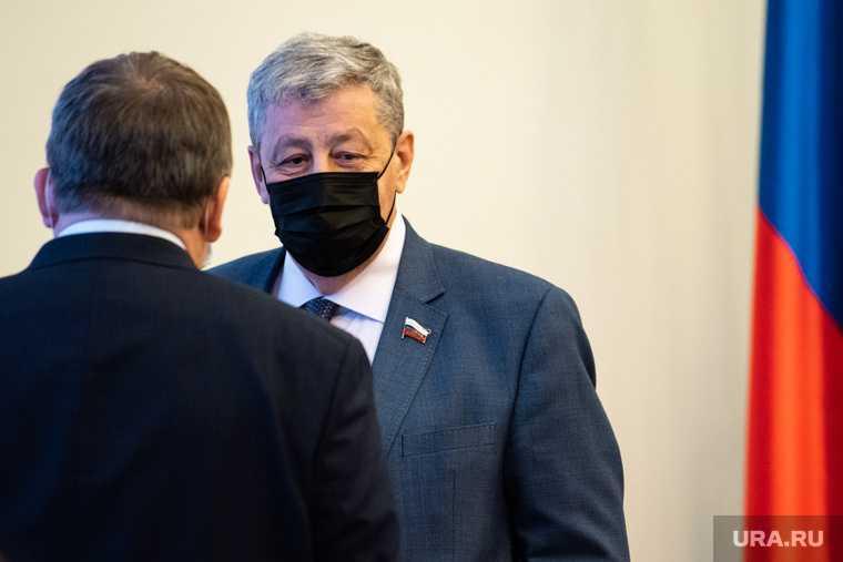 сенатор Аркадий Чернецкий Свердловская область отставка