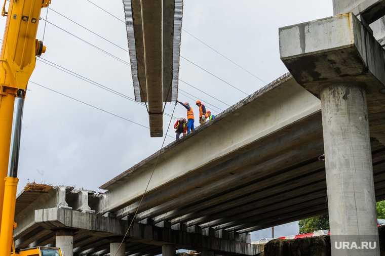 Челябинская область Усть Катавский район автомобильный мост река Симок закрыли реконструкция